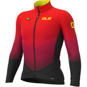 Alé Cycling PR-S Delta Micro Maillot Hombre, black-bordeaux-red